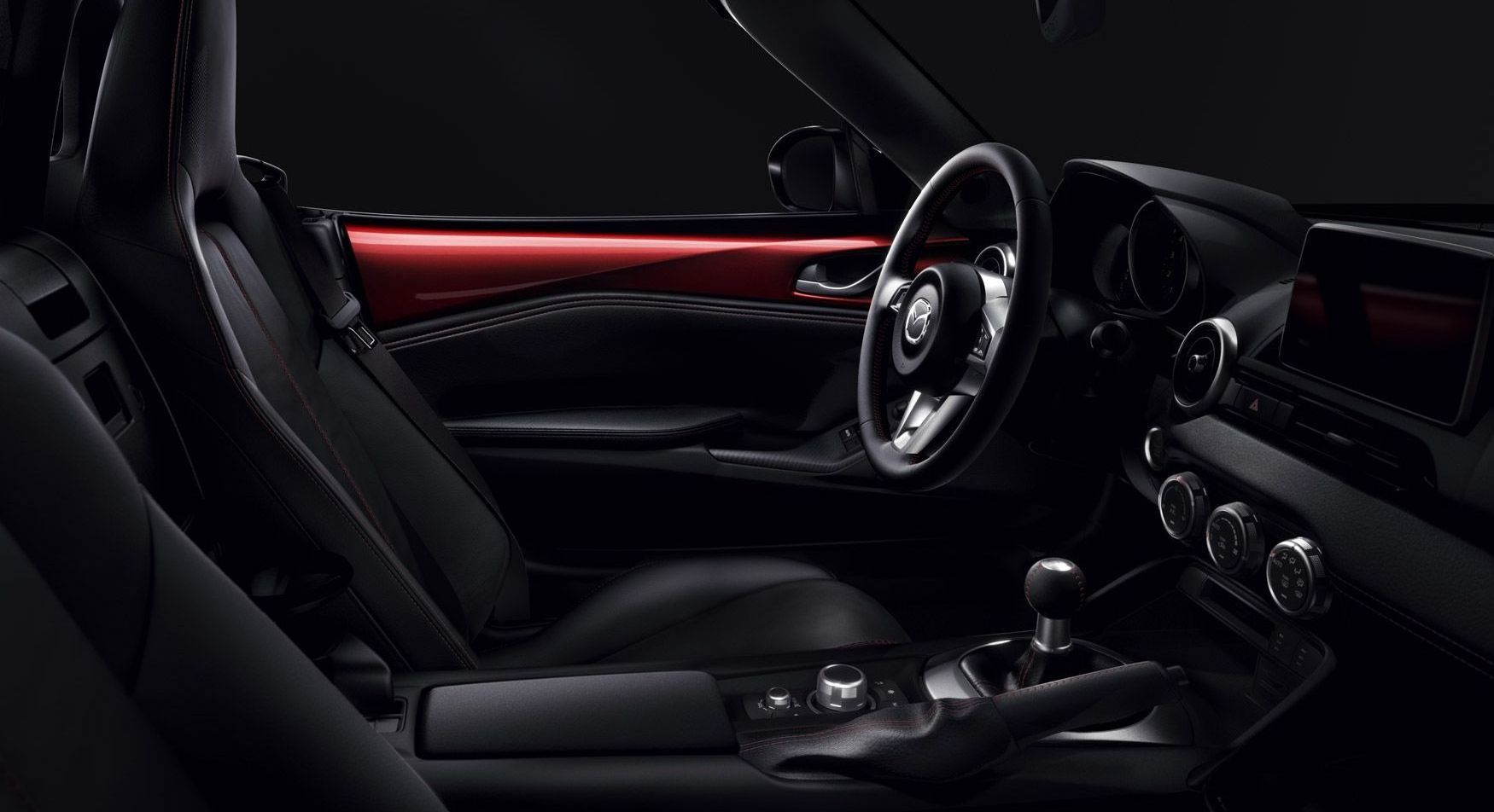 Interior of the Mazda MX-5 Miata RF