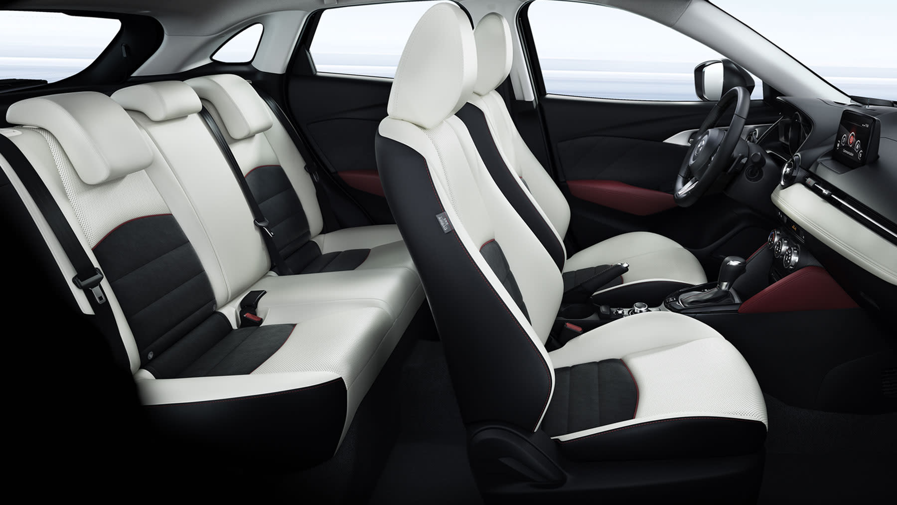 Cabin of the 2018 Mazda CX-3