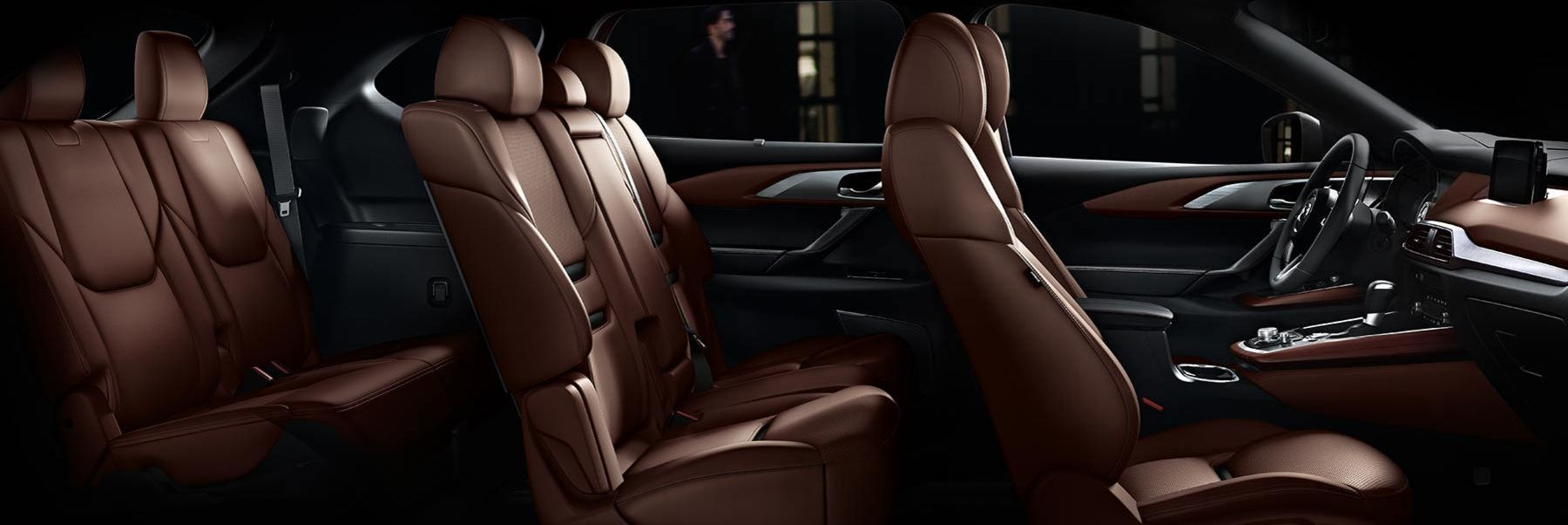 Three Rows of Seats in the 2019 CX-9
