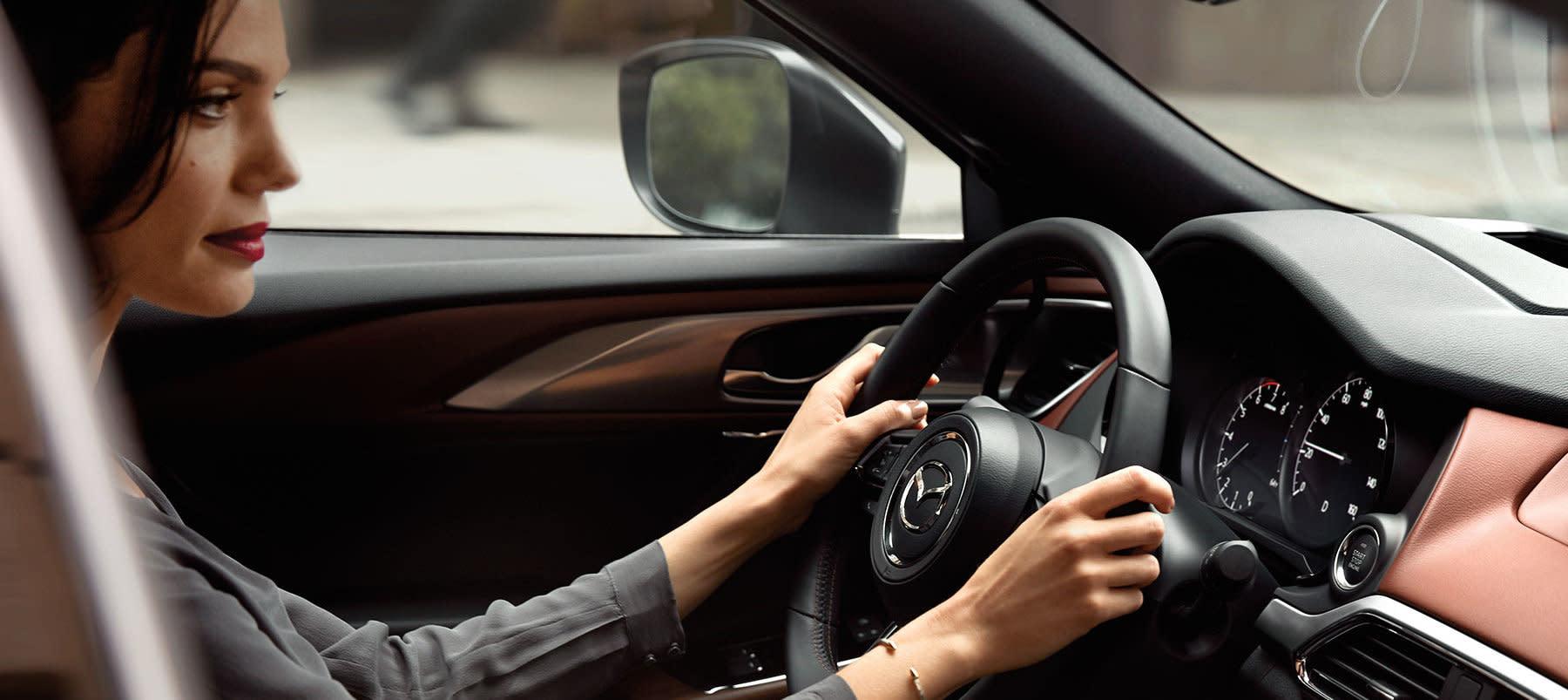 Secure Cabin of the 2019 Mazda CX-9