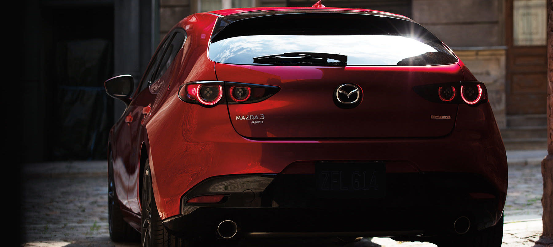 You'll Be Noticed Left and Right in the 2020 MAZDA3 Hatchback!