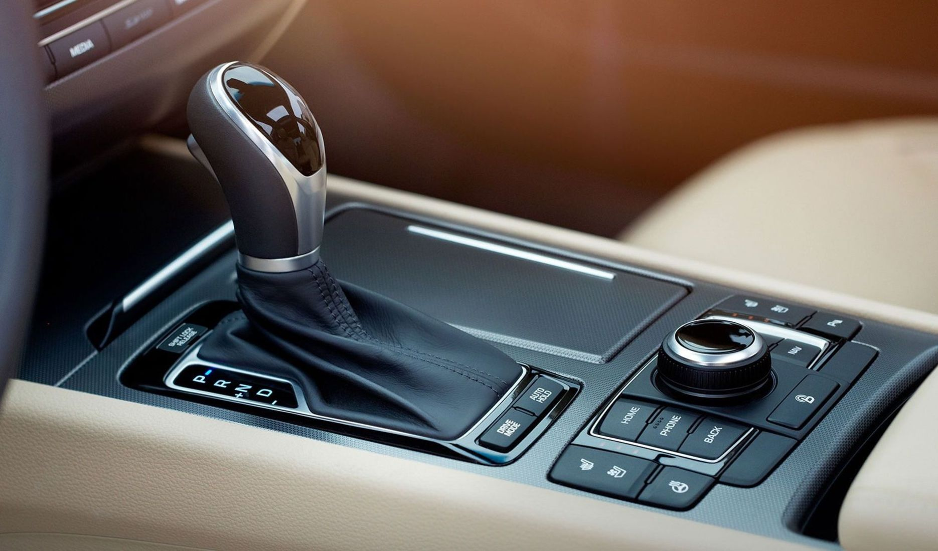 The G80 Intuitive 8-speed Automatic Transmission