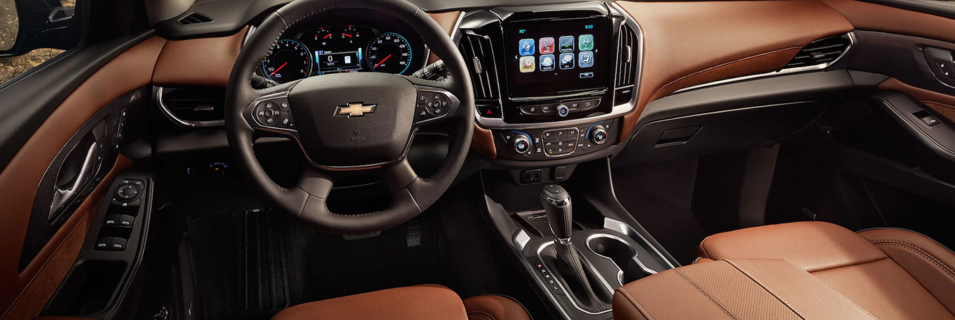 Interior of the 2018 Traverse
