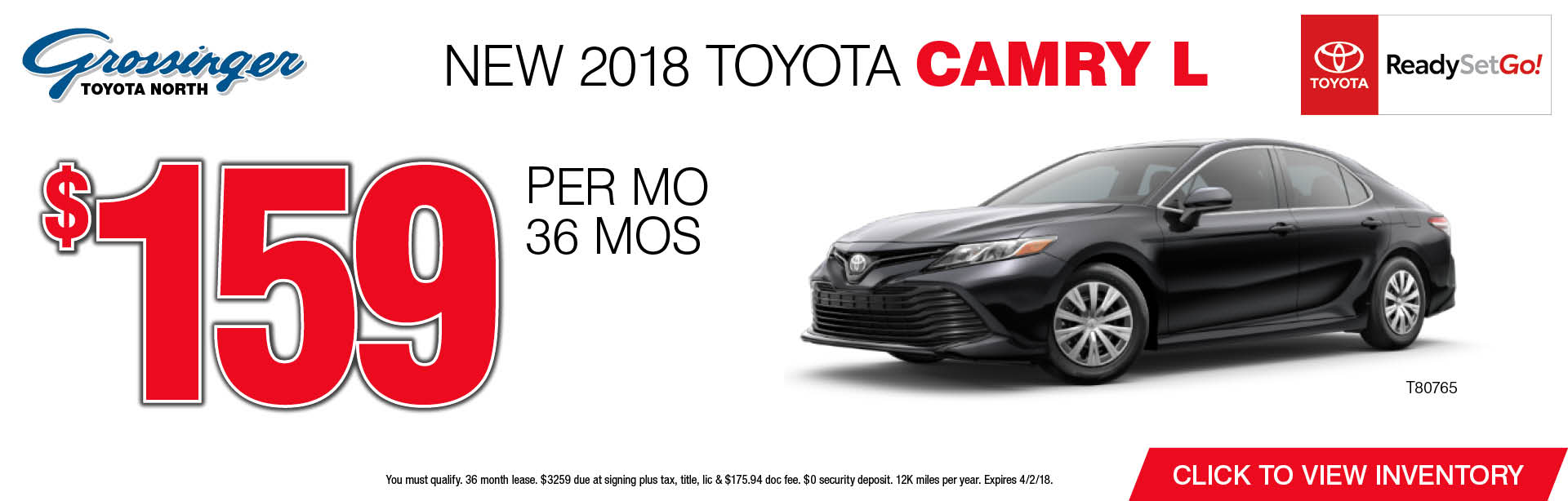 2018 Toyota Camry Special Lease Lincolnwood Il Toyota Leases