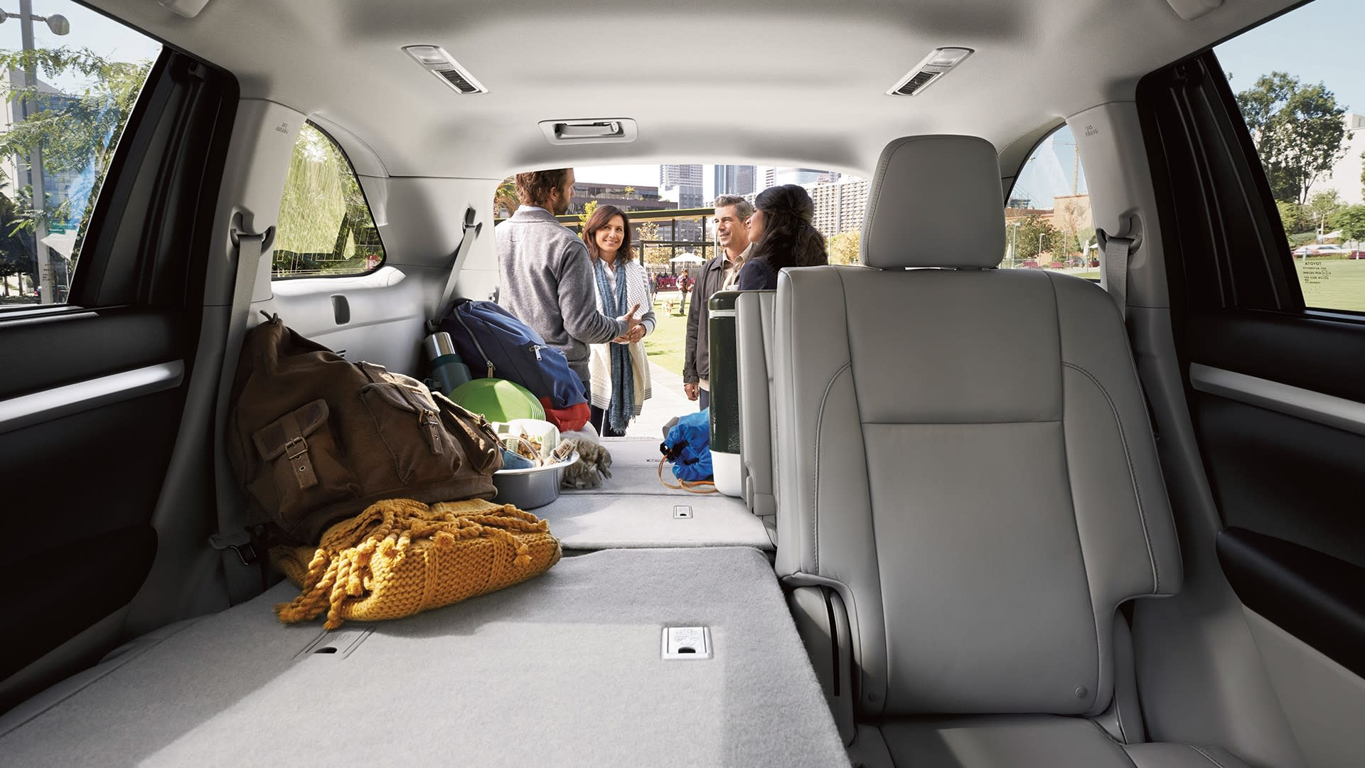 2019 Toyota Highlander's Available Cargo Space