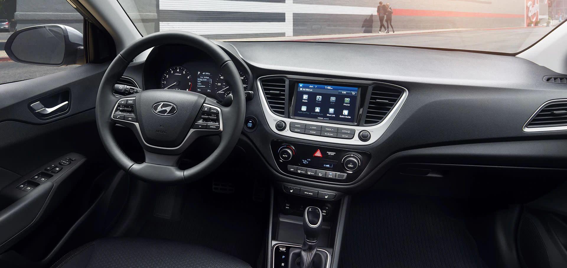 2019 Hyundai Accent Interior
