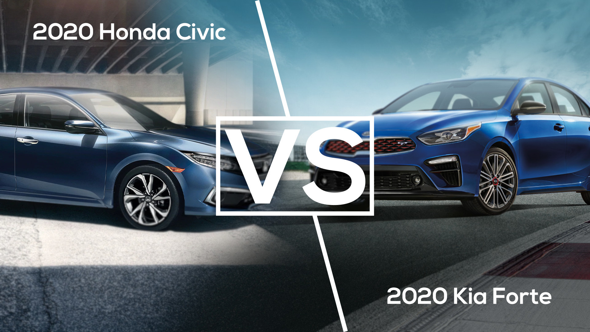 2020 kia forte vs 2020 honda civic