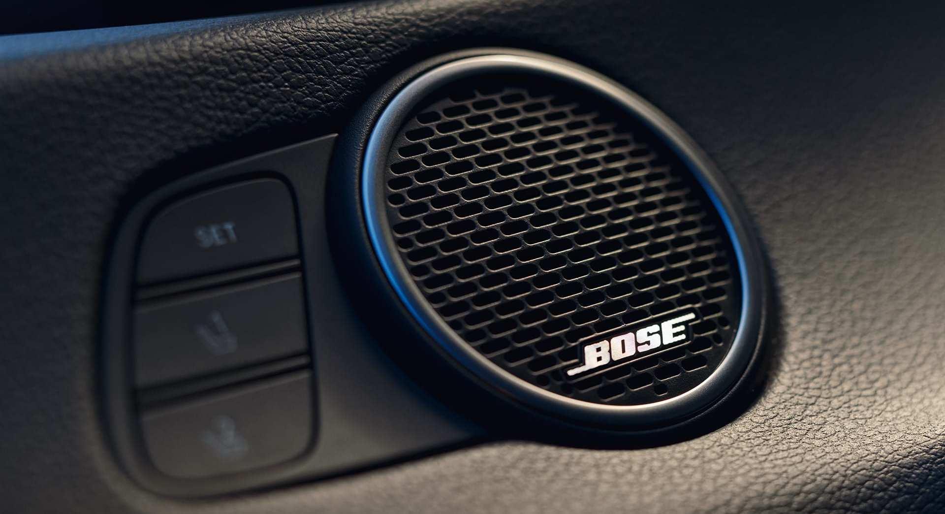 Bose® Premium Sound System in the 2020 Hyundai Sonata