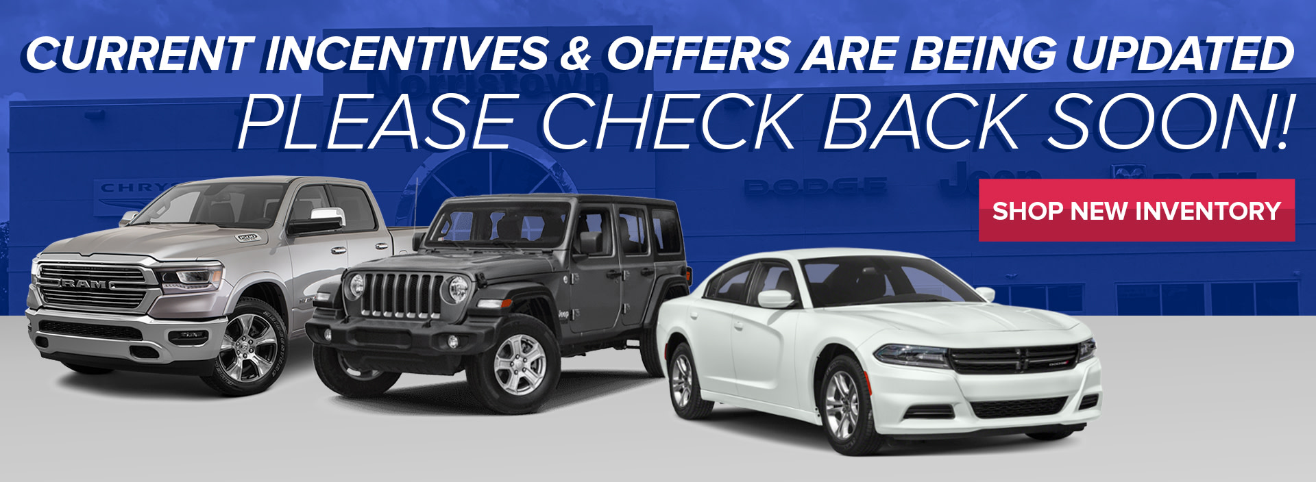 New Monthly Specials are being Added!