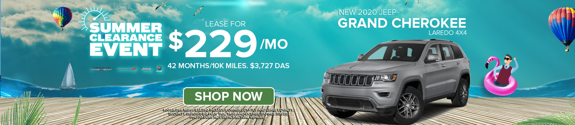 Lease a 2020 Jeep Grand Cherokee at Norristown CDJR