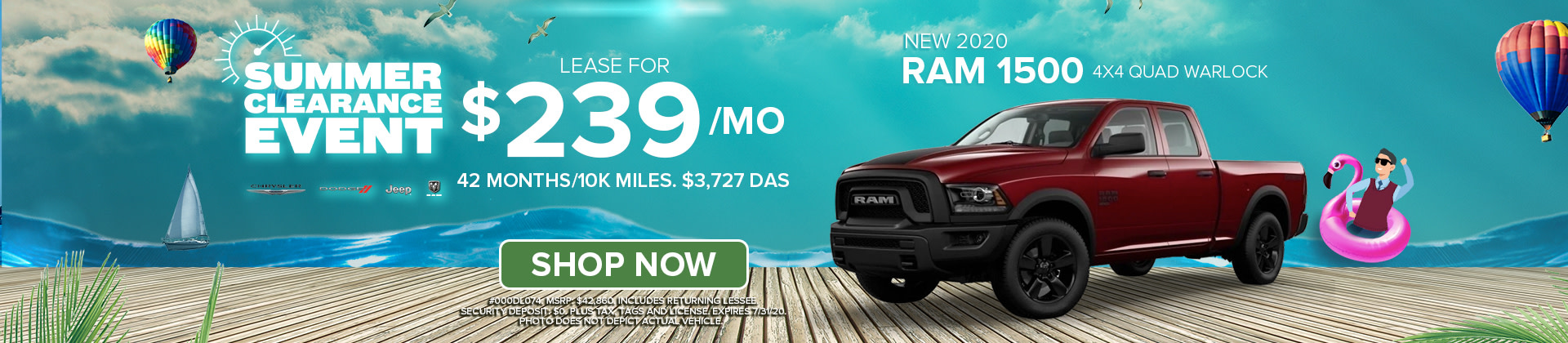 Lease a 2020 Ram 1500 at Norristown CDJR