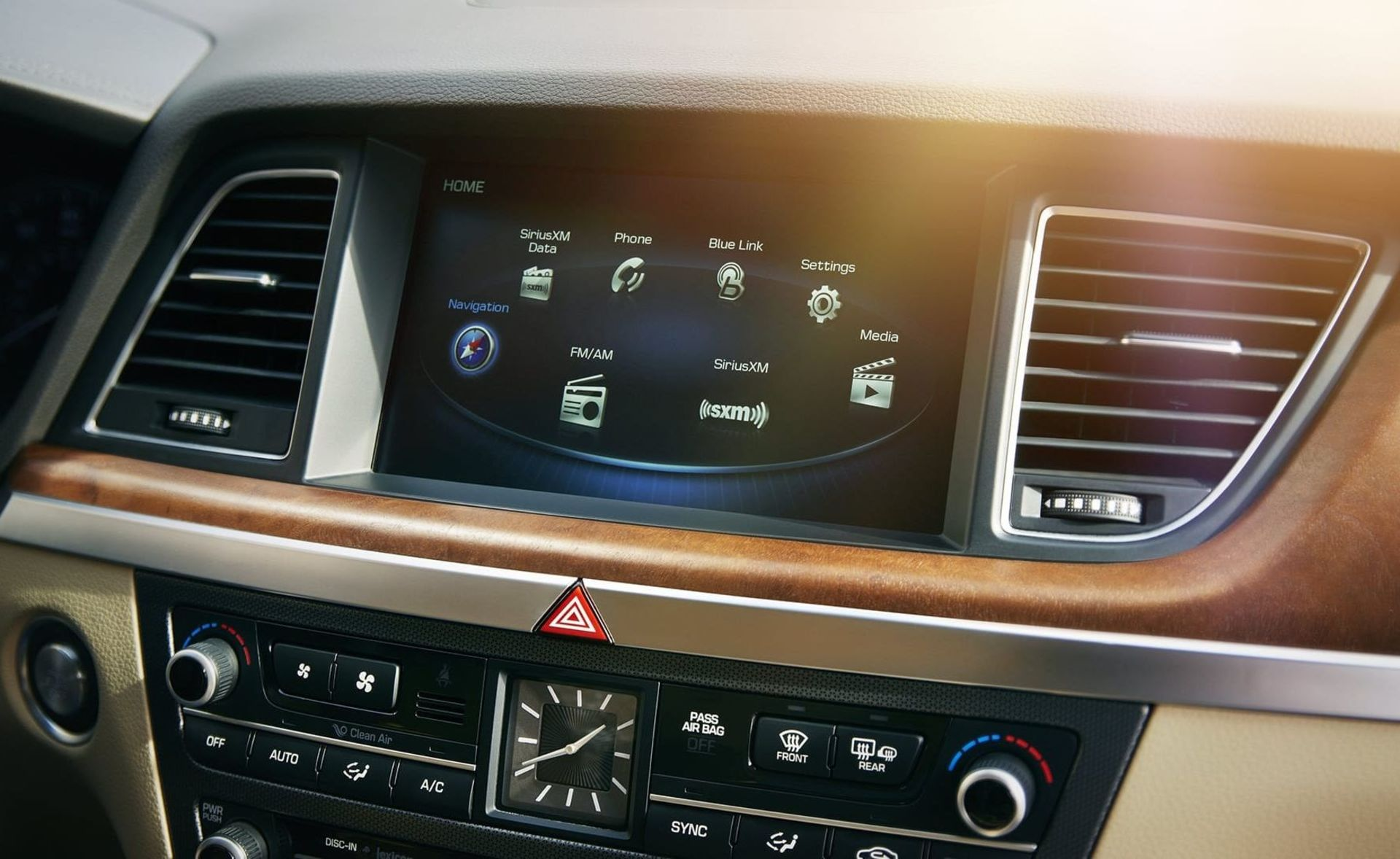 The G80 Center Touchscreen Display