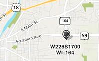 Russ Darrow Waukesha map.