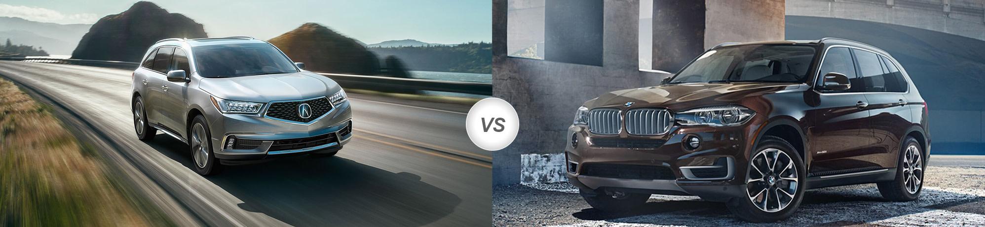 2018 Acura MDX vs 2018 BMW X5 | Compare Specs - Pohanka Acura on