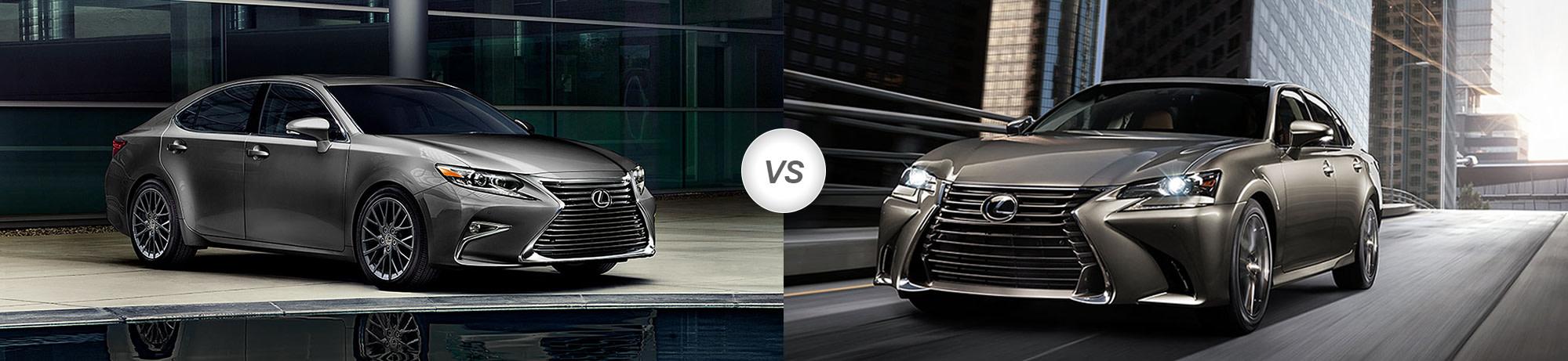 2018 Lexus ES Vs 2017 Lexus GS