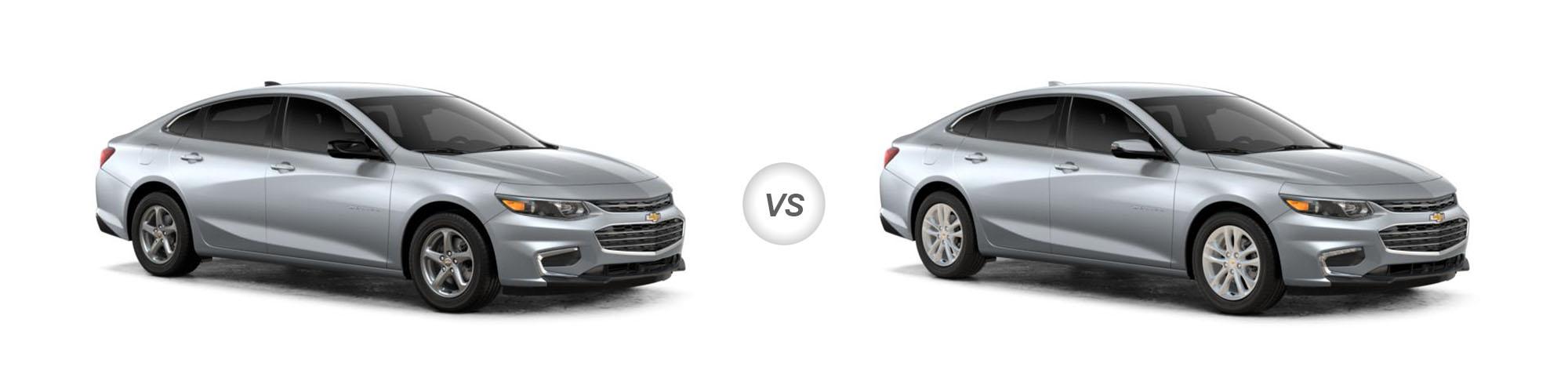 2018 Chevrolet Malibu LS vs Malibu LT   Trim Comparison