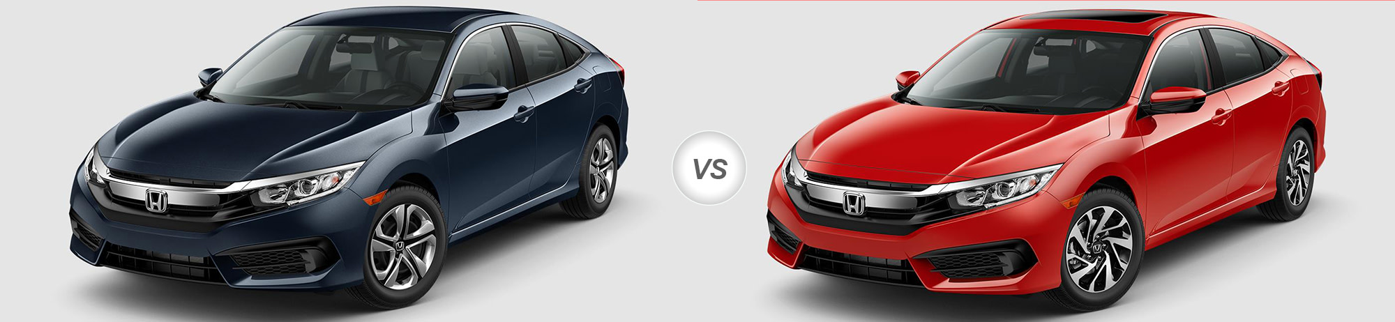 2018 Honda Civic LX Vs 2018 Honda Civic EX