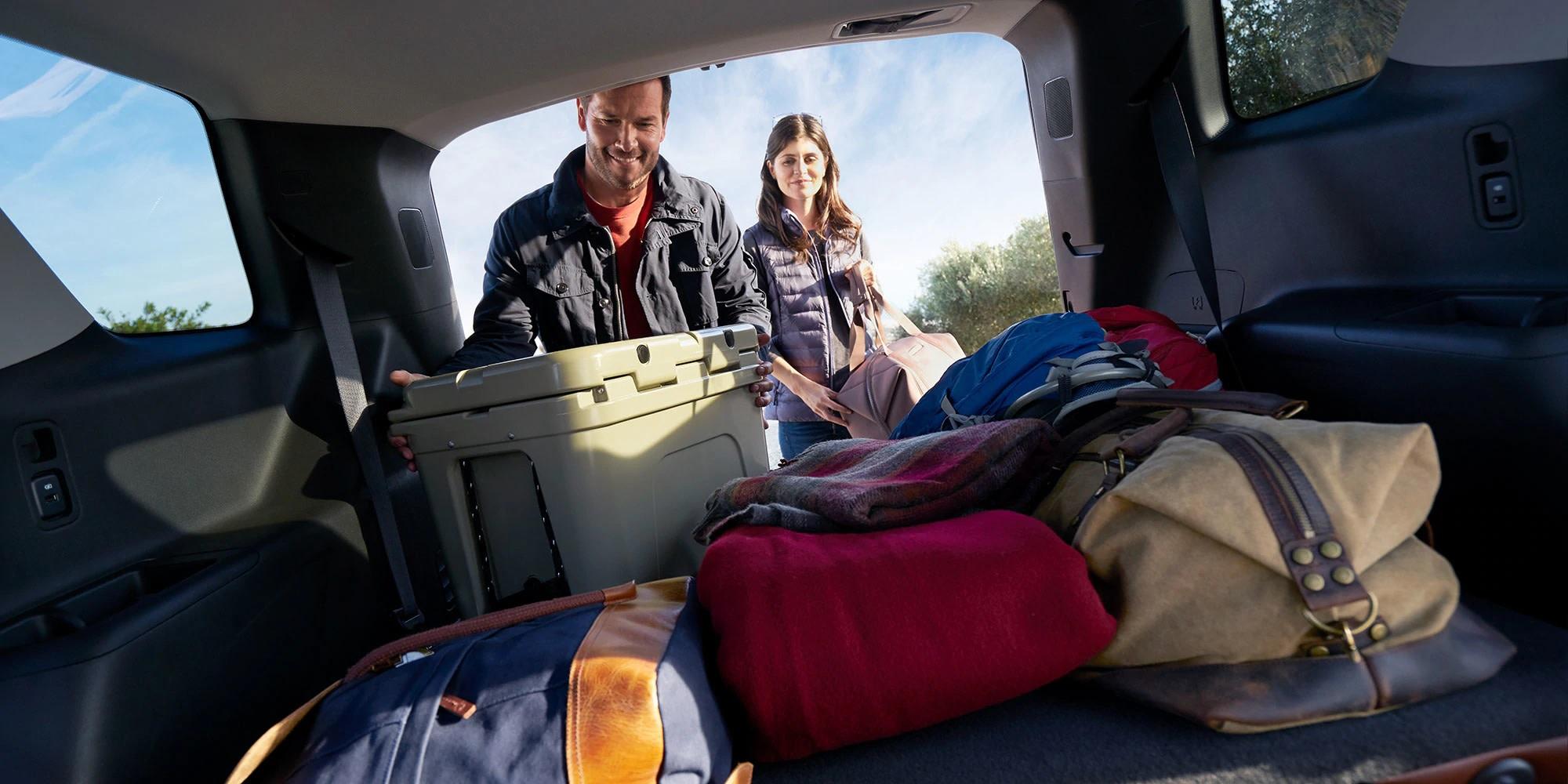 La Chevrolet Traverse 2019 cuenta con un gran espacio de carga