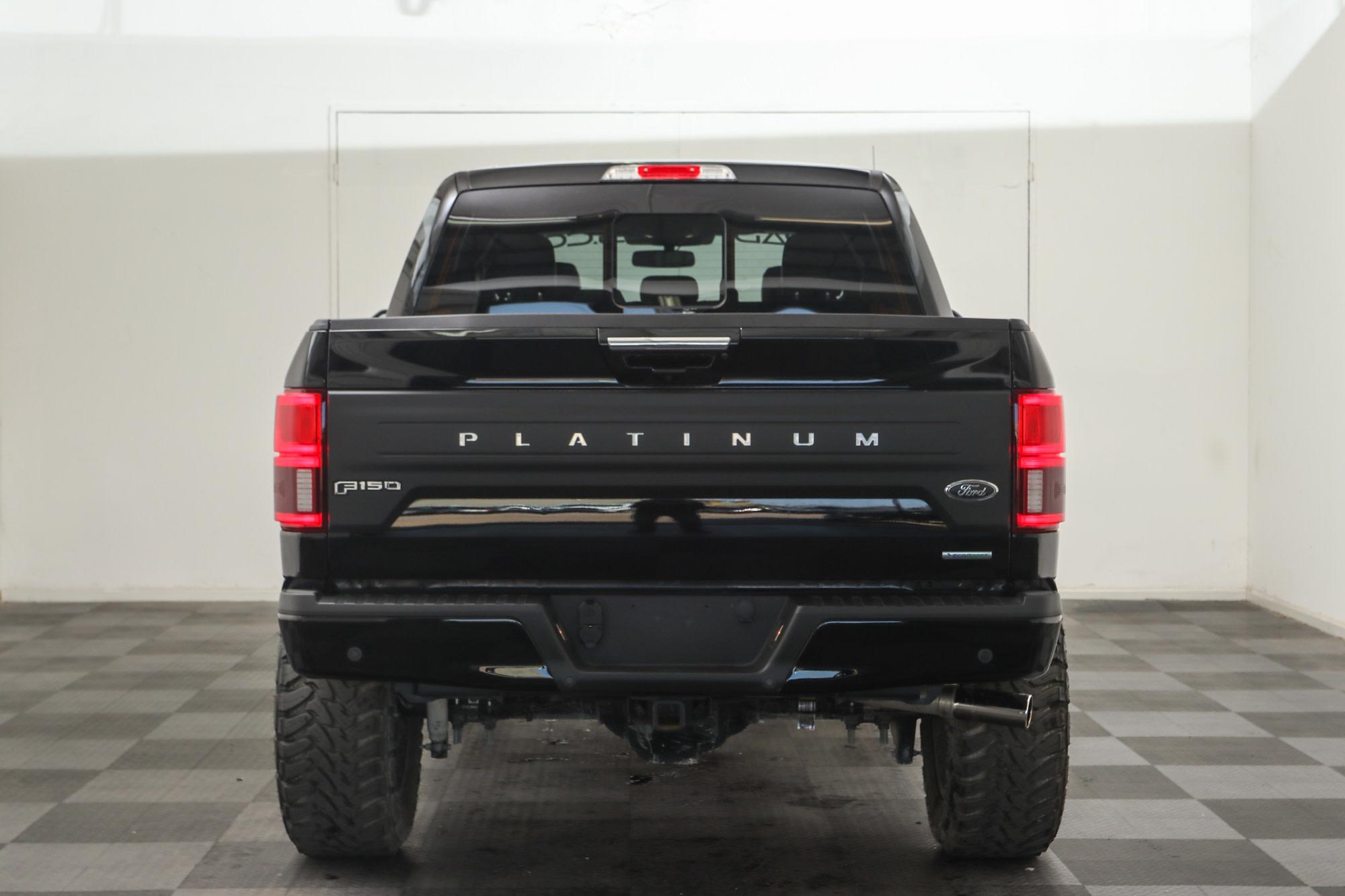 2019 Ford F 150 Platinum Custom Lifted 4x4 Truck Black Fuel Hardline