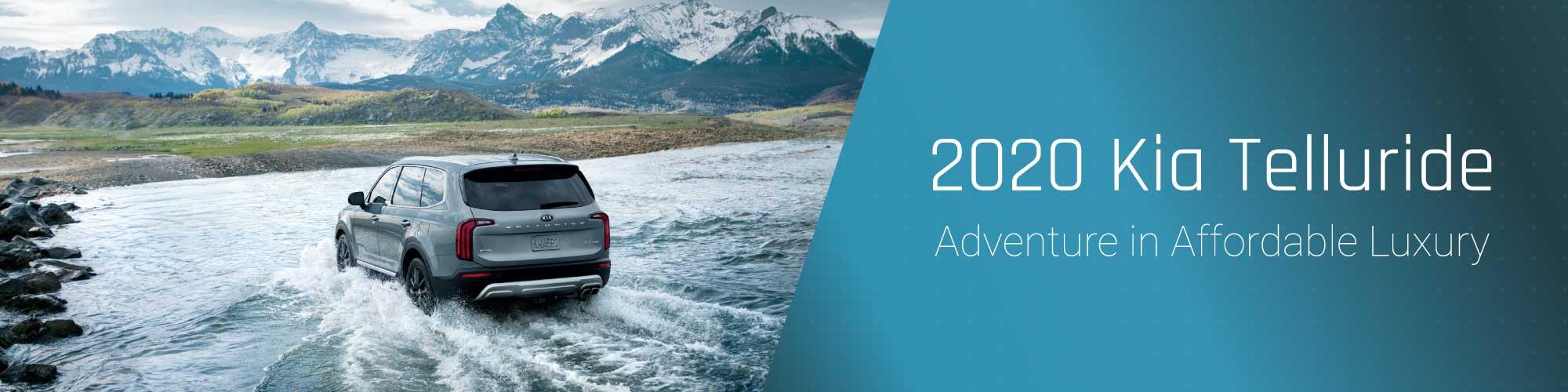 2020 Kia Telluride. Adventure in Affordable Luxury