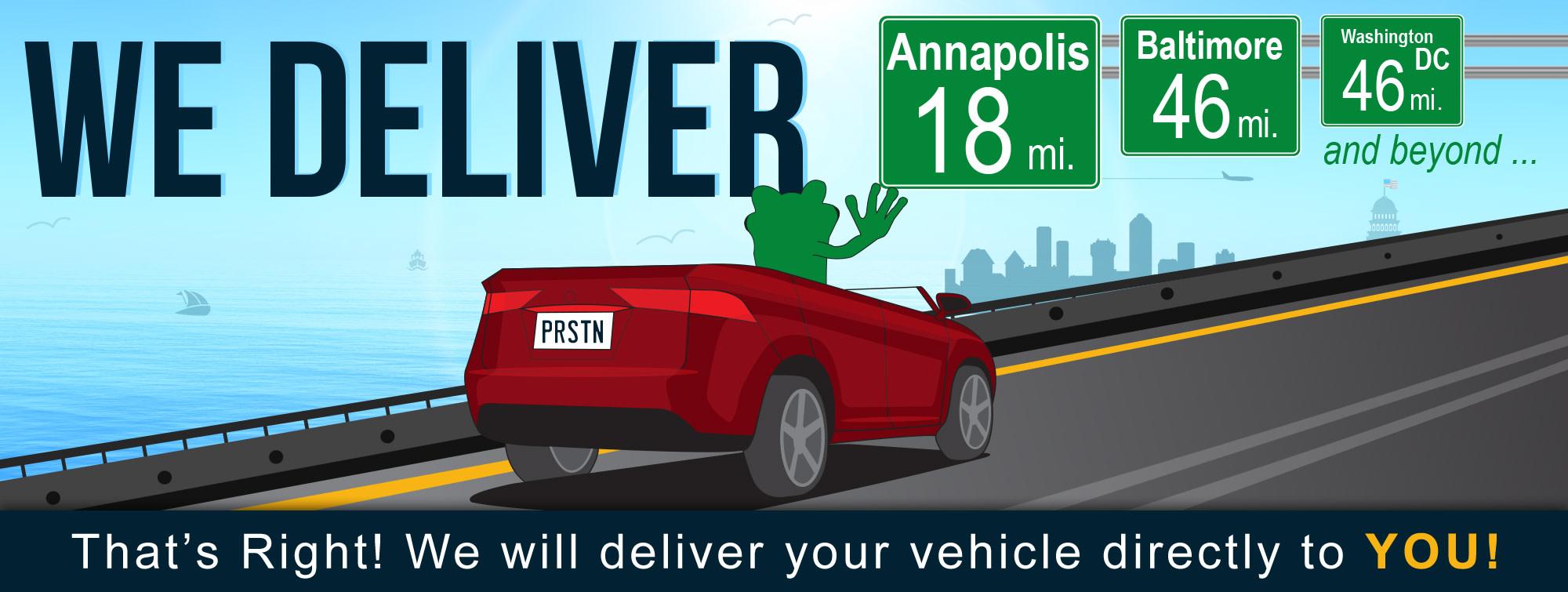 Preston delivery