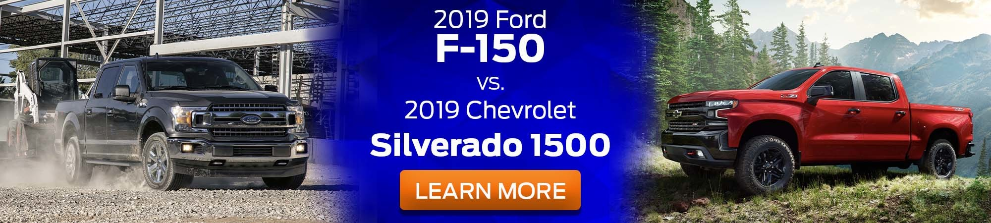 2019 Ford F-150 v 2019 Chevrolet Silverado