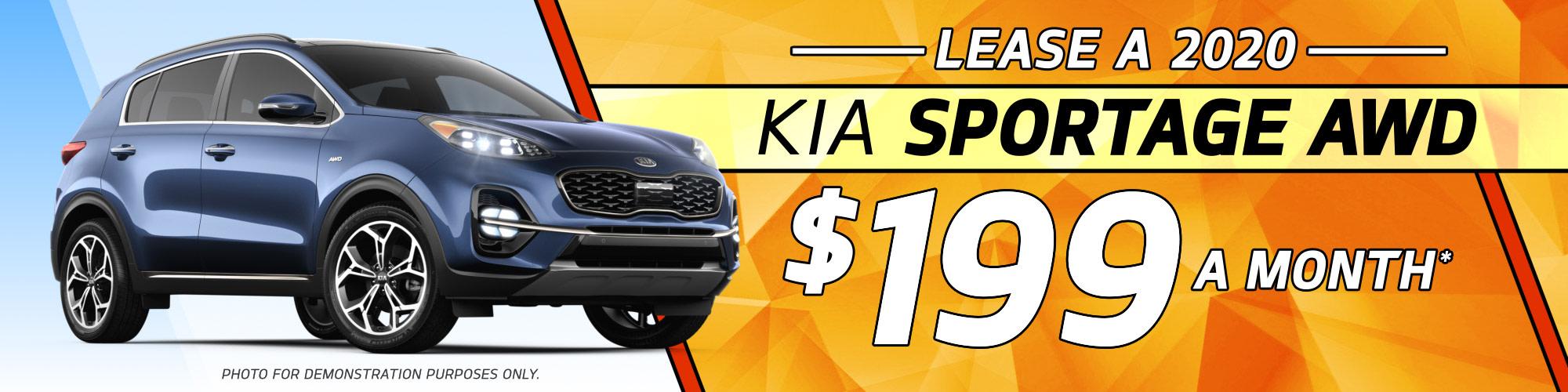 Lease a 2020 Kia Sportage