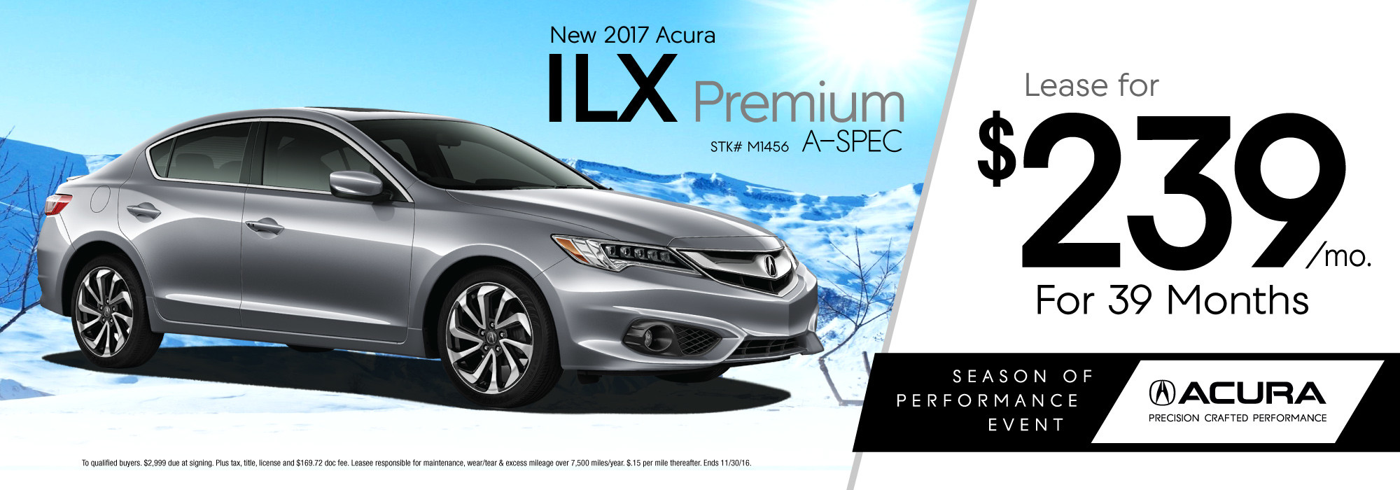 Lease Specials McGrath Acura Of Morton Grove - Lease an acura