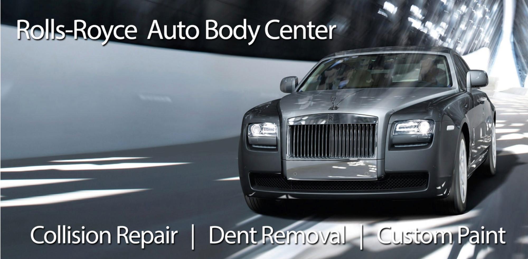 Rolls royce body shop greensboro repair collision shop for Mercedes benz of greensboro greensboro nc