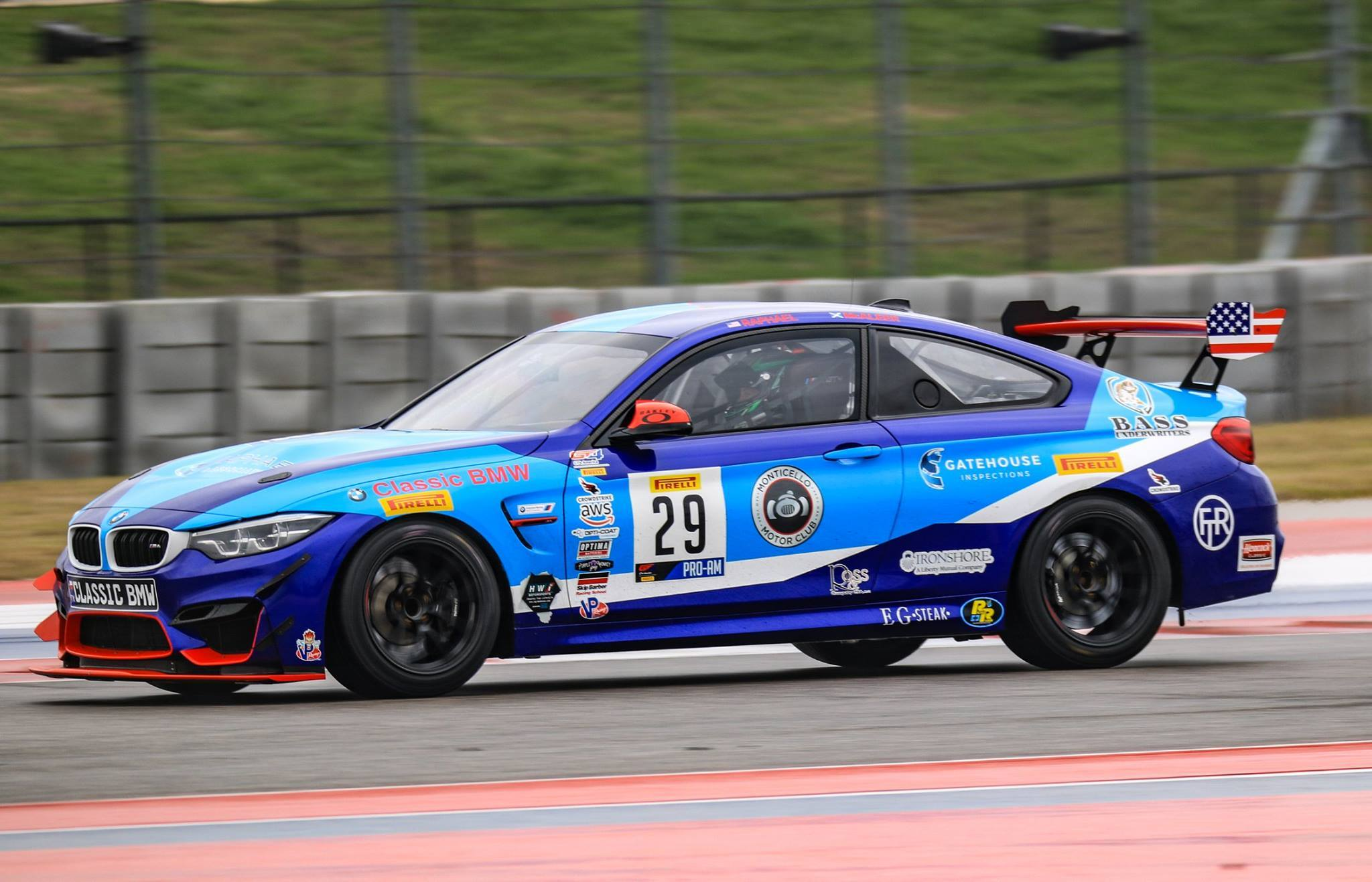 a4eec3d6c90 Fast Track Racing and Classic BMW Pirelli GT4 America SprintX Lineup ...