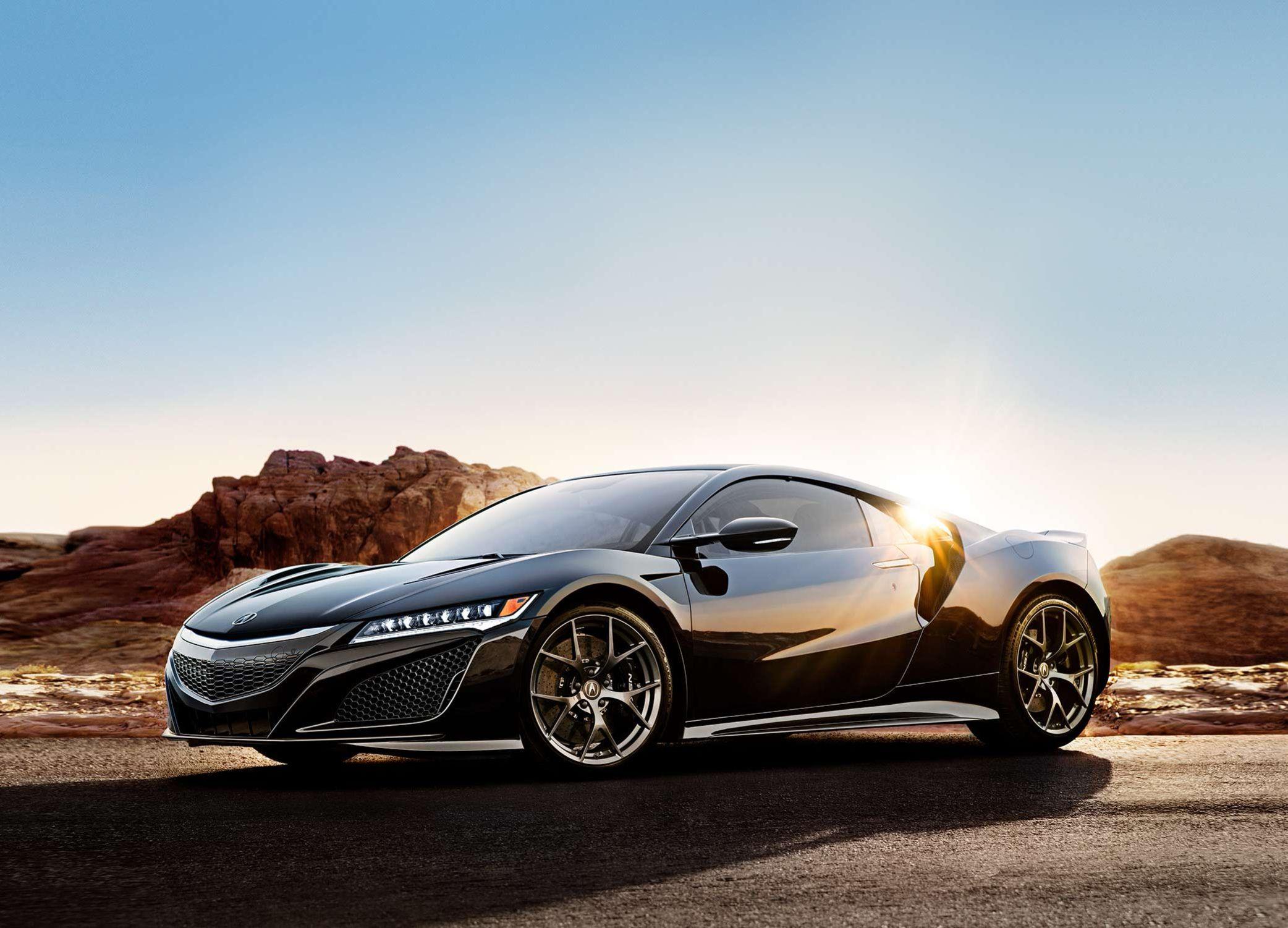 El Acura NSX deportivo híbrido