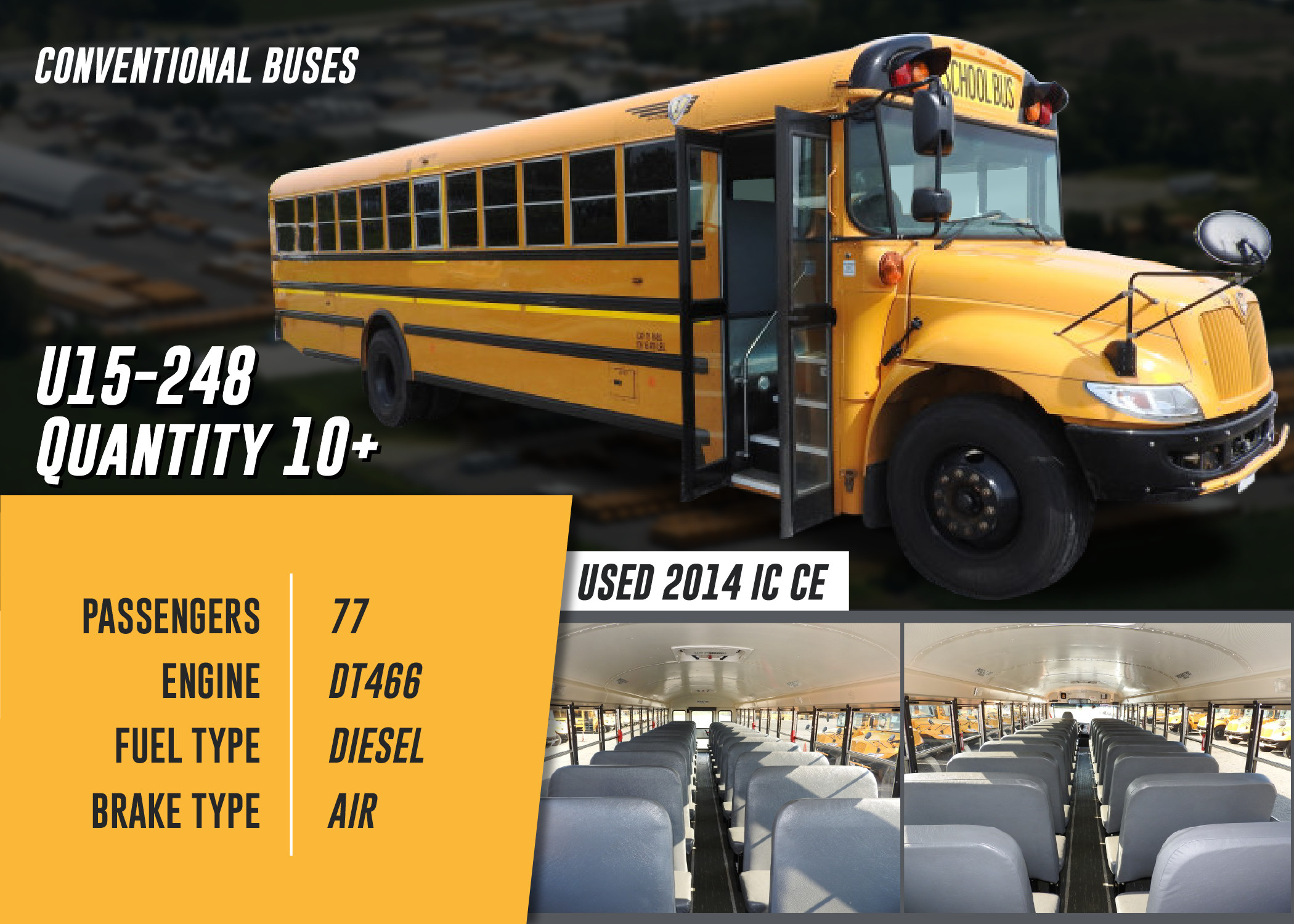 School Buses For Sale In Indiana In Midwest Transit