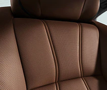 Perforated Milano Leather Seats