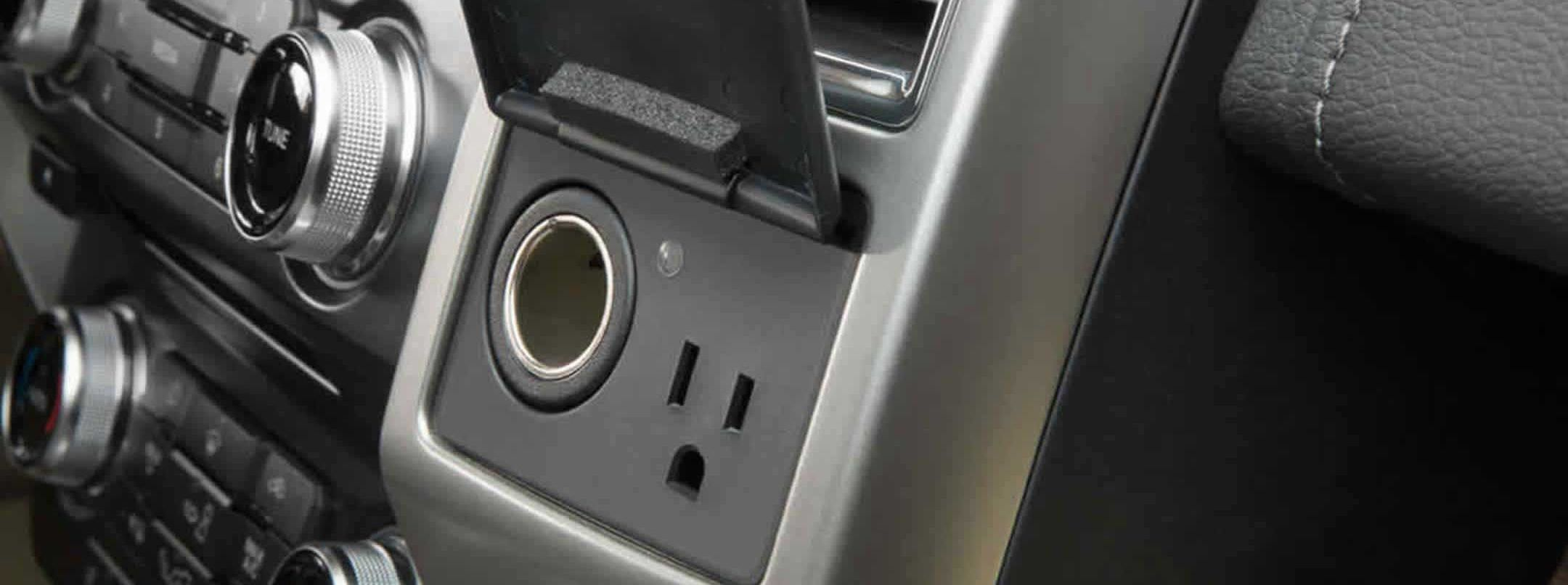 12-volt Power Outlet Equipped within the 2017 F-150
