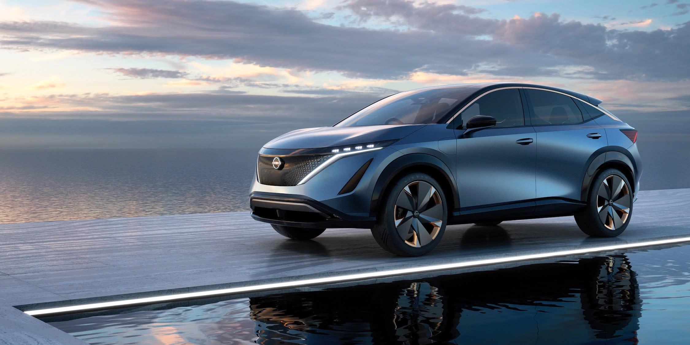Nissan Ariya 2020 exterieur   Aben en van de Schelde
