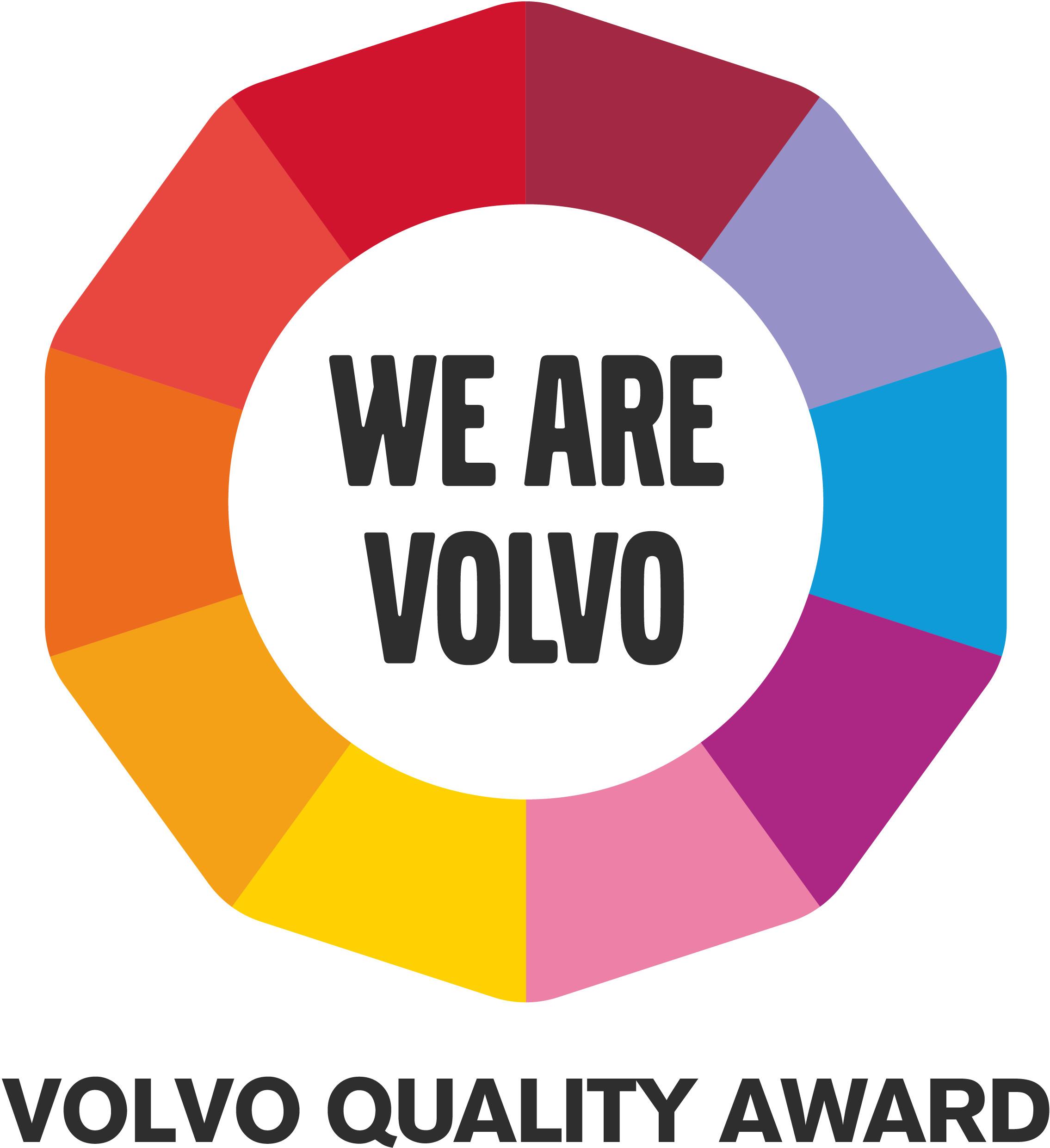 Volvo Quality Award Nieuwenhuijse