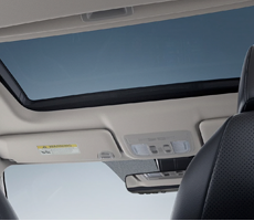 ONE-TOUCH POWER MOONROOF