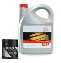 Toyota conventional oil change with filter