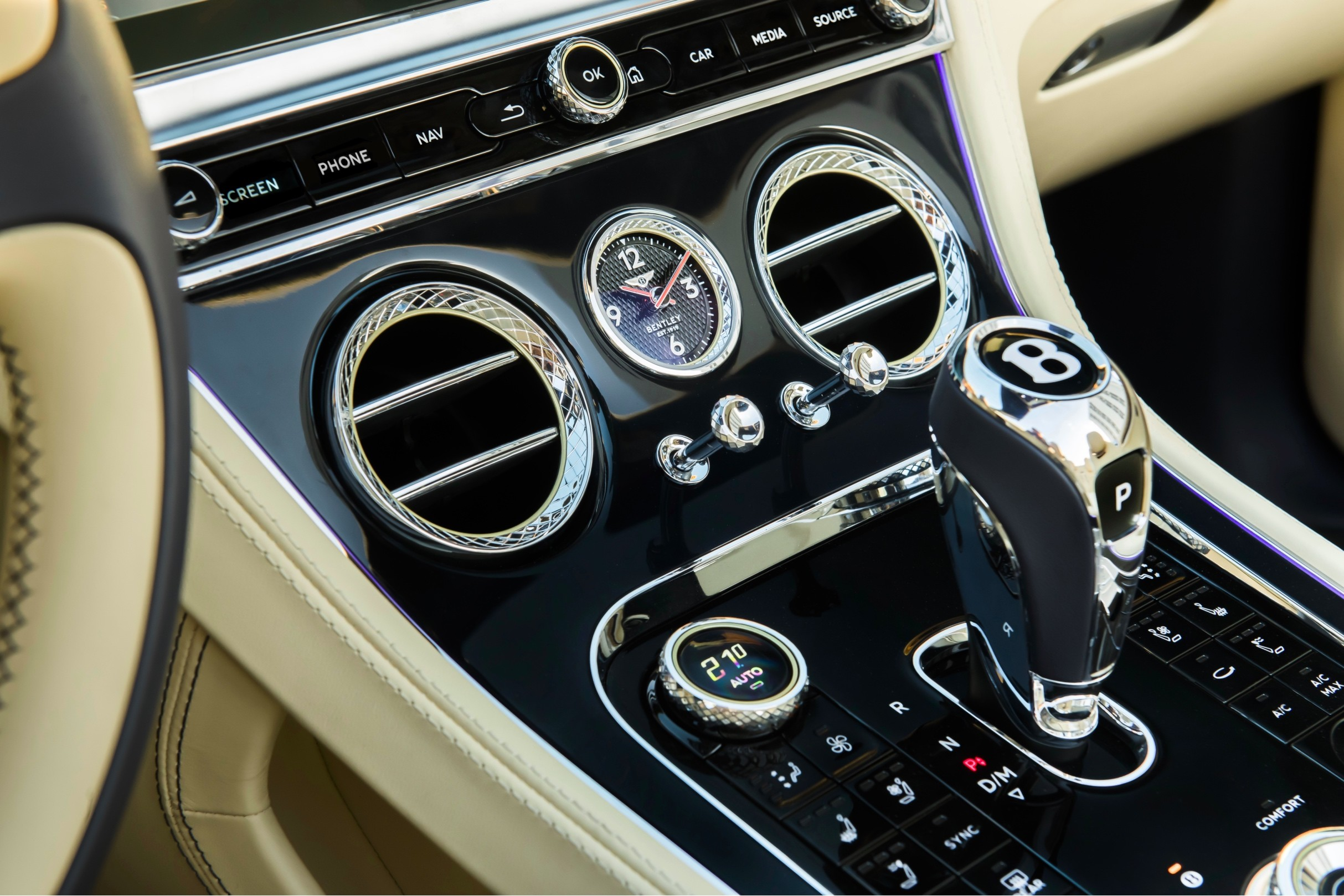 Modern Features in the 2020 Bentley Continental GTC