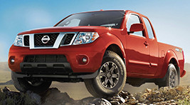 Rent a New Nissan Frontier