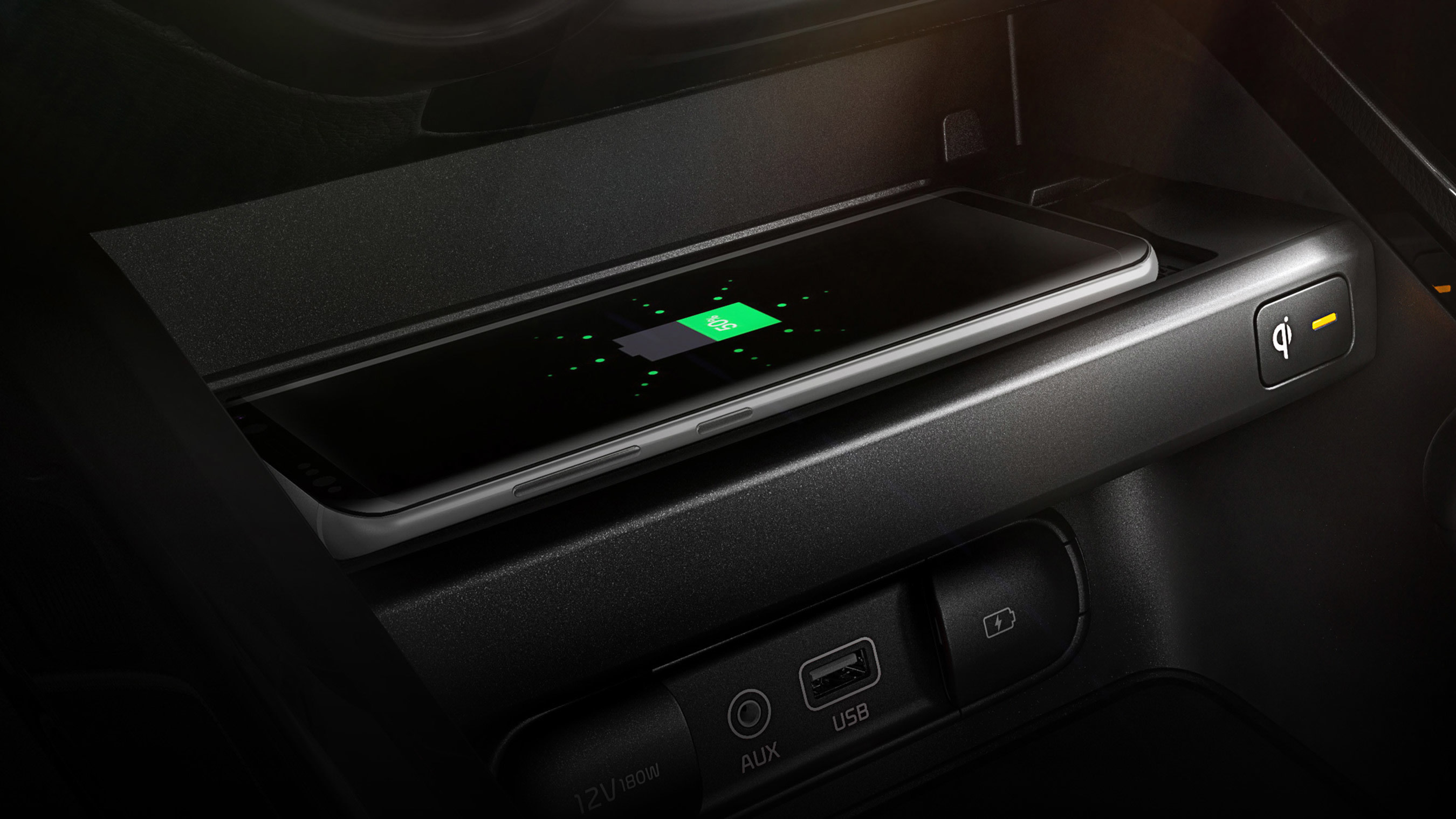 Charge Your Phone Quickly in the 2020 Kia Forte!