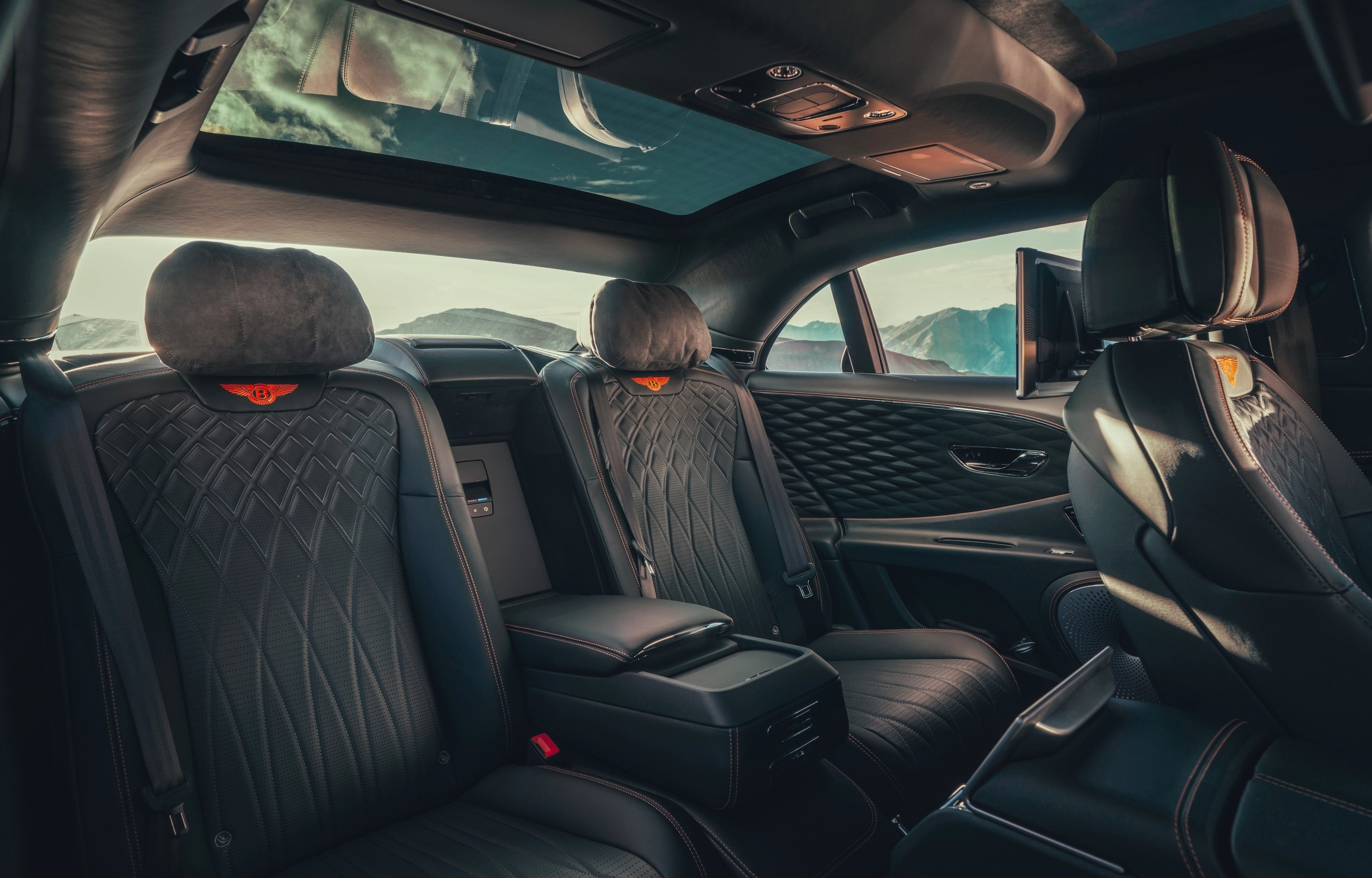 Interior of the 2020 Bentley Flying Spur