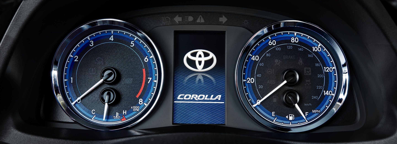Speedometer in the 2019 Toyota Corolla