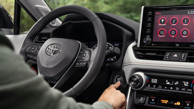 2019 Toyota RAV4 Vs Honda CR-V Technology near Newburgh, IN