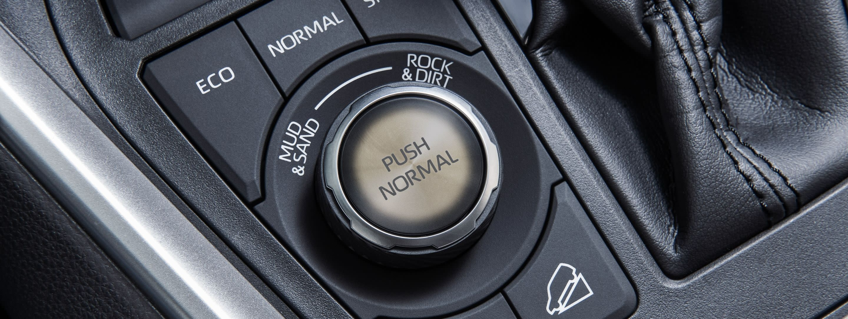 Controls at Your Fingertips in the 2019 RAV4