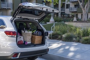 Toyota Highlander Interior - Trunk