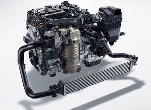 174-hp turbocharged engine