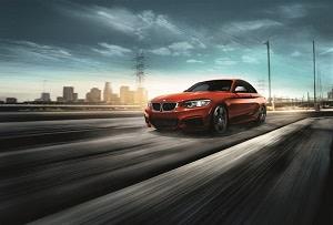BMW Coupe Orange