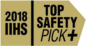2018 IIHS Top Safety Pick+