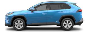 2020 Toyota RAV4 Hybrid near Pasadena